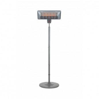 La Hacienda Grey Series Standing Quartz Heater