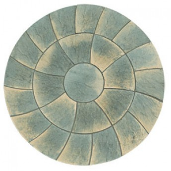 Abbey Twist Circle in Antique
