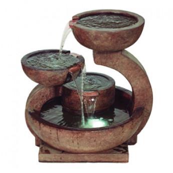 Henri Zen Fountain In Relic Lava