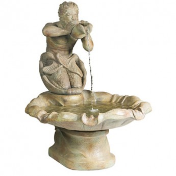 Triton Fountain 3 piece in Relic Azura