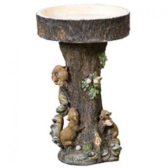 Squirrel Tree Bird Bath 600mm