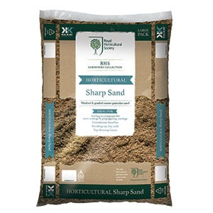 Rhs gardeners collection horticultural sharp sand for Gardeners supply company catalog