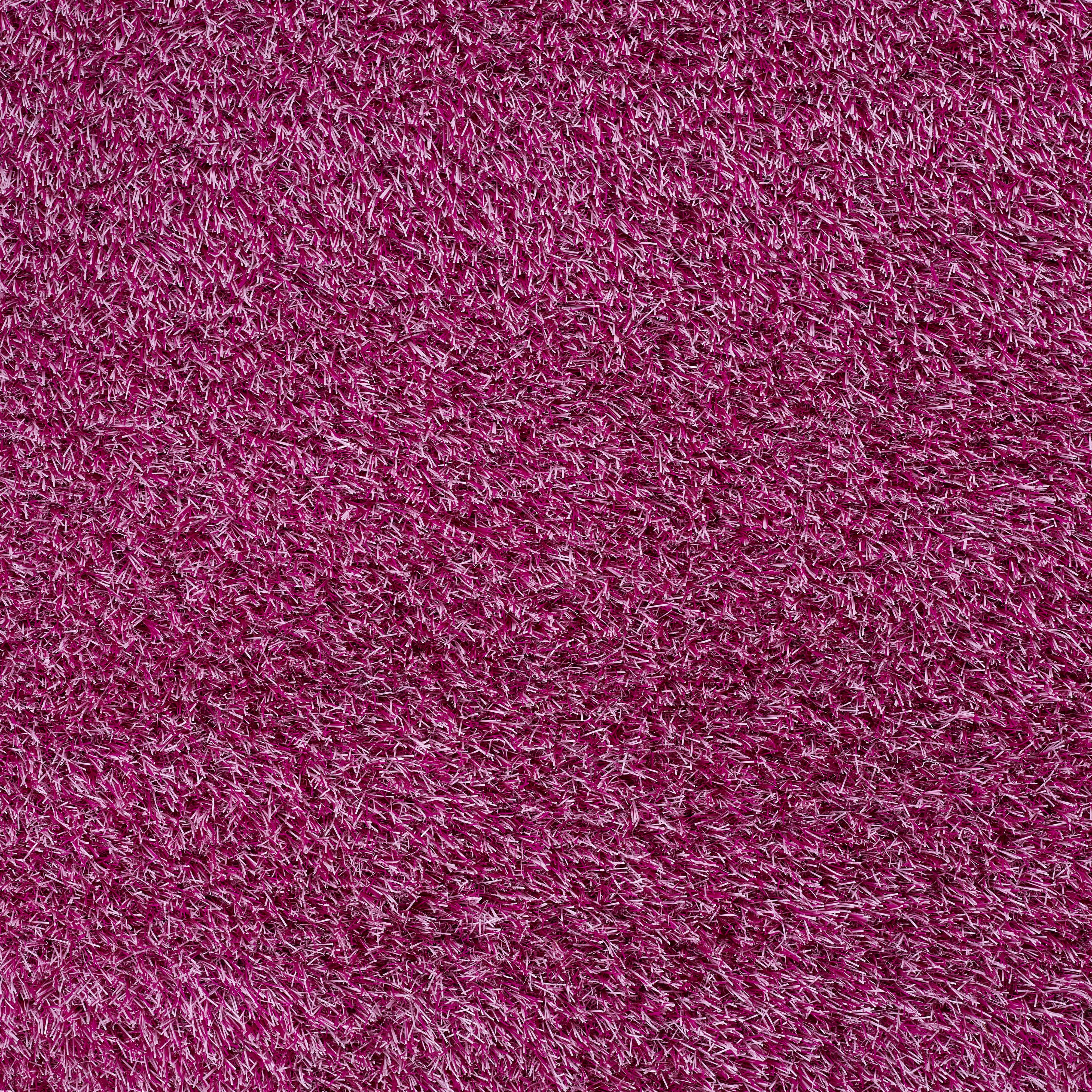Kelkay artificial grass play pink for Pink decorative grasses