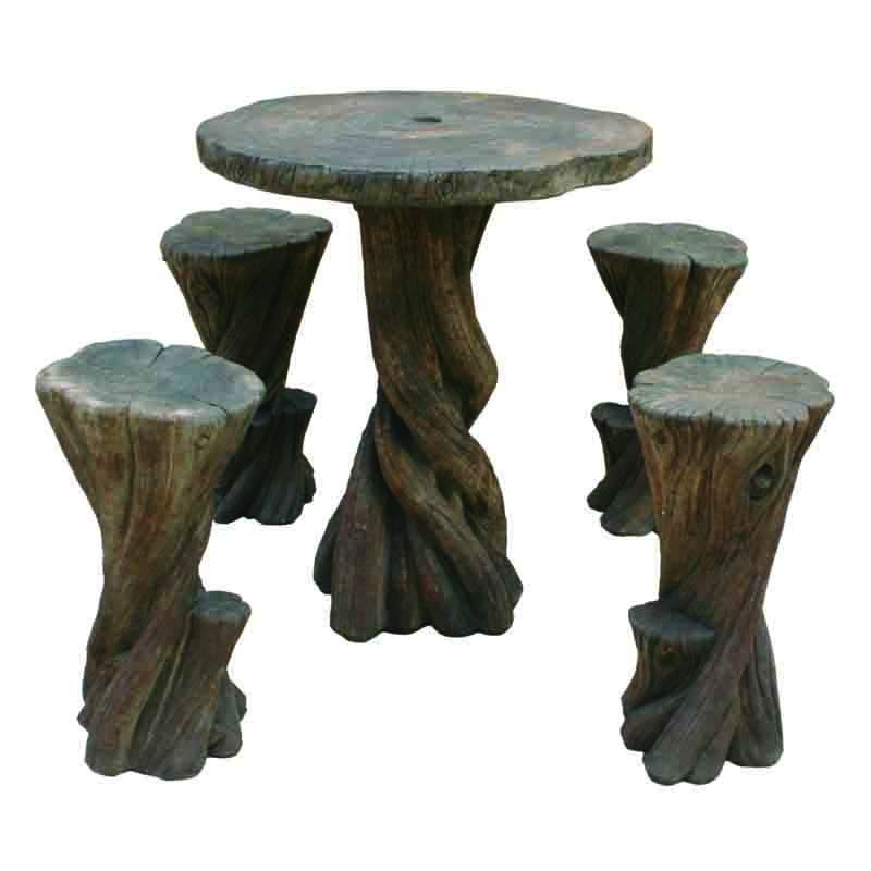 Henri Bayan Hi Top Table Set In Relic Hi Tone