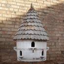 Round Birdhouse 2 tier