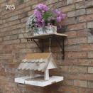 Wall mounted birdtable