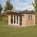 Forest Abberley Log Cabin 4.0m x 3.0m