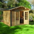 Forest Bradnor Log Cabin 2.2m x 2.2m