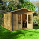 Forest Bradnor Log Cabin 3.0m x 2.5m