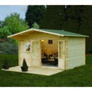 Forest Buxton Log Cabin 4.0m x 3.0m