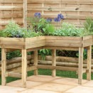 Forest Corner Table Planter