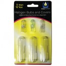 Halogen Bulbs and Covers 5w 12v