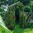 Forest Garden Rose Arch