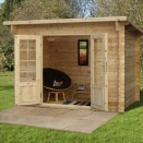 Forest Harwood Log Cabin 3.0m x 2.0m