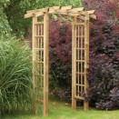 Forest Garden Ryeford Garden Arch for climbing plants