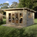 Forest Melbury Log Cabin 4.0m x 3.0m