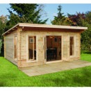 Forest Mendip Log Cabin 5.0m x 4.0m