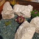 Deco-Pak White Limestone Rockery