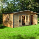 Forest Wrekin Log Cabin 4.5m x 3.5m