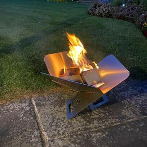Steel Outdoor Flat Pack FirePit