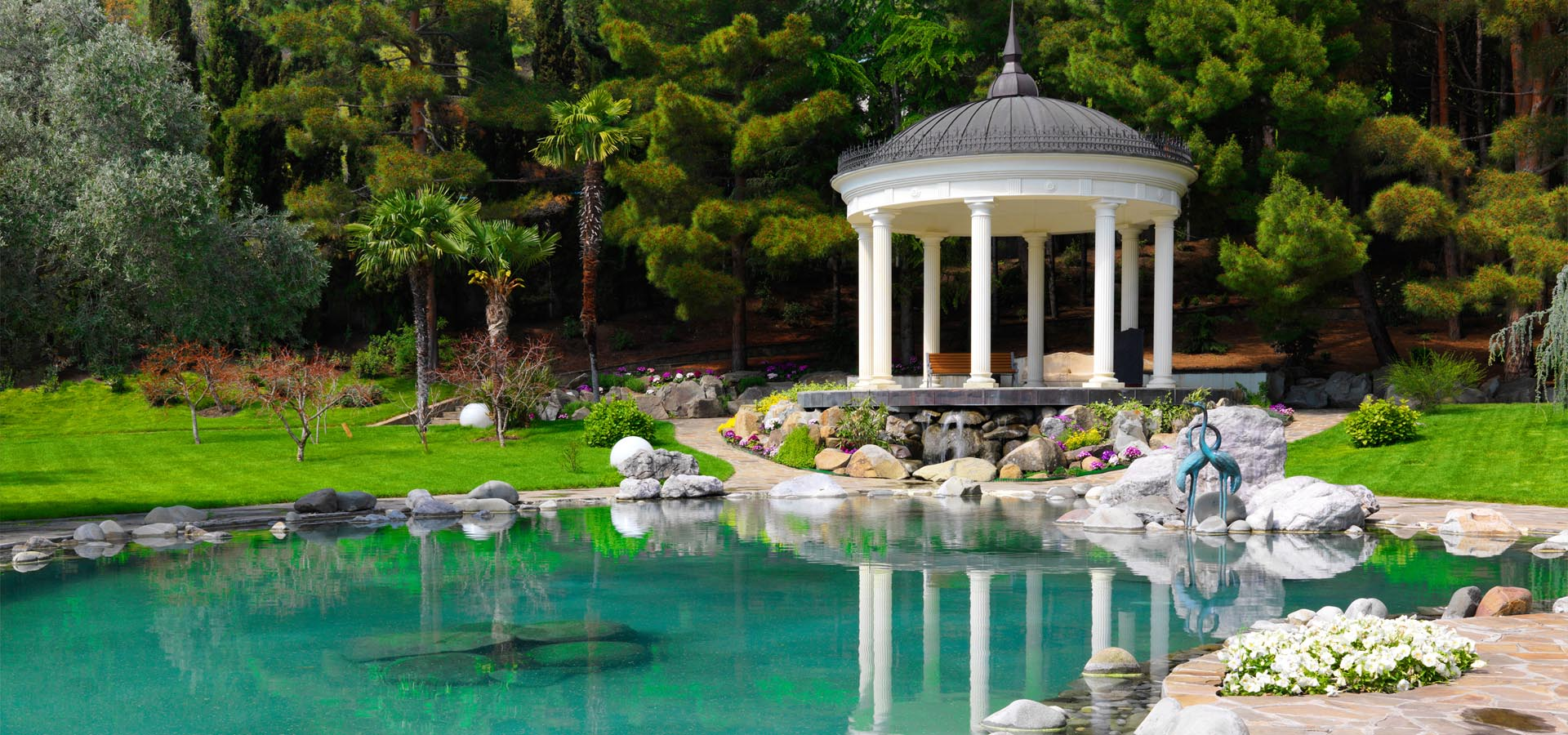The 4 best stones for lining your pond