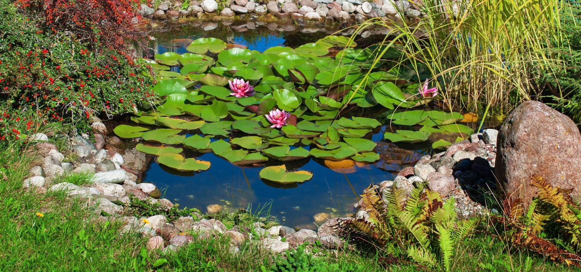 Using Scottish pebbles in your water feature: Our top tips